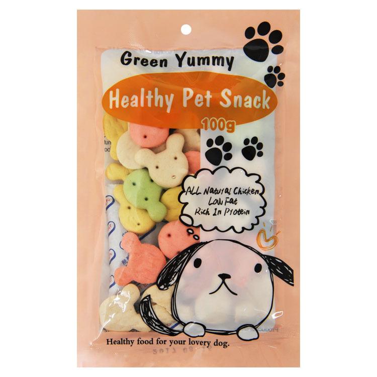 Bánh gấu thưởng cho chó Green Yummy 100g