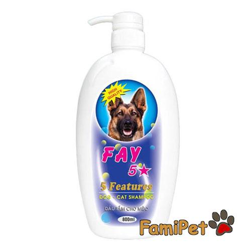các loại sữa tắm cho chó