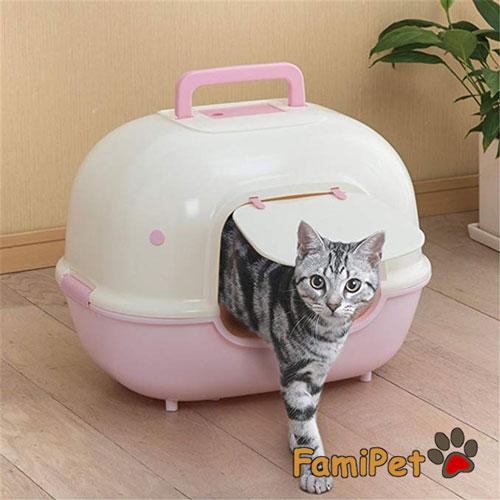 nhà vệ sinh cho mèo iris
