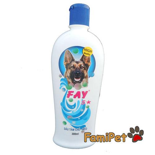 sữa tắm cho chó fay 5